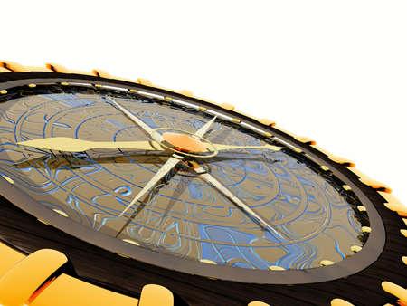 Compass. 3D illustration Stock Illustration - 1304112