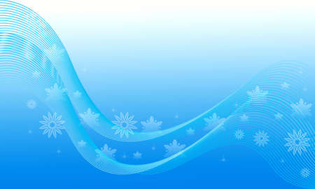 Abstraction blue Christmas background for design artwork Stock Photo