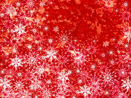 Abstraction red snow background for design artwork