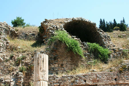 Travel in Ephesus, Turkey photo