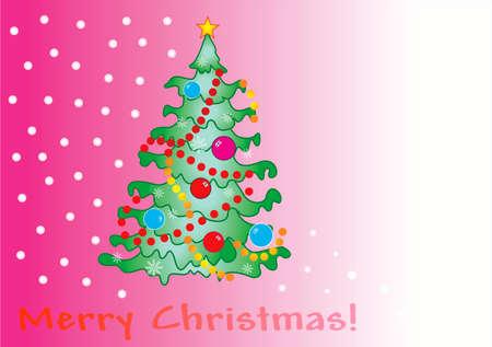 sillhouette: Christmas pink card ( XXXL size )