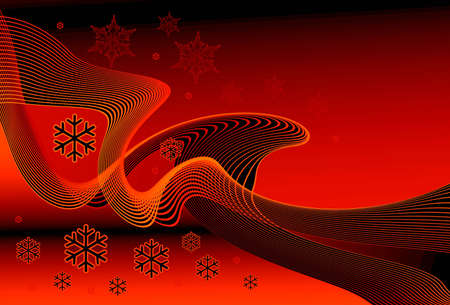 illustrates: Christmas  background for various design artworks.