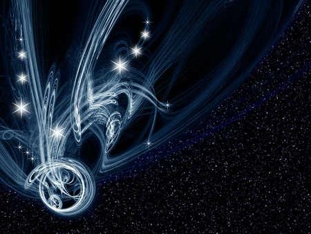 space fantasy Stock Photo - 2189998