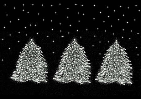trio: Trio Christmas trees