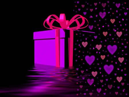 celebratory: Present with heart