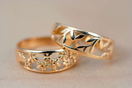 Two golden rings photo