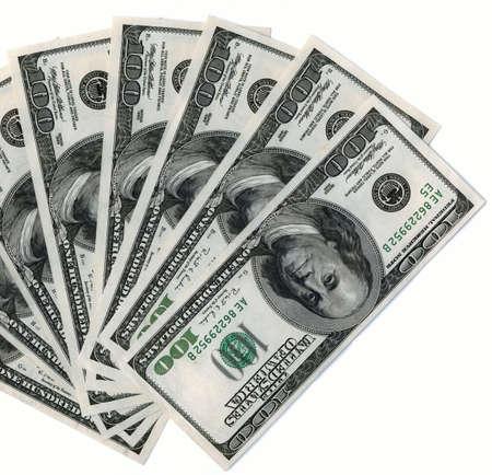monies: American 100 dollars