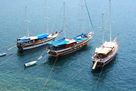 sailer: Yachts on sea