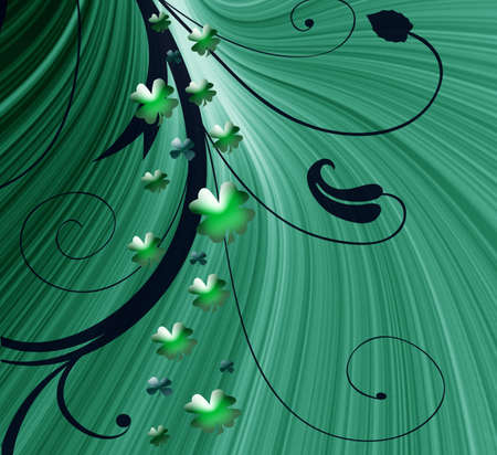 stpatrick: Abstract on theme holiday St.Patrick