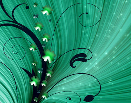 Abstract on theme holiday St.Patrick Stock Photo - 2615194
