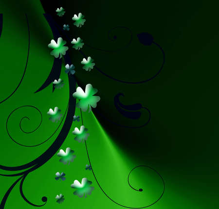 Abstract on theme holiday St.Patrick Stock Photo - 2615163