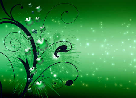 Abstract on theme holiday St.Patrick Stock Photo - 2615176