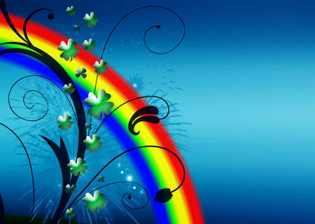 Abstract on theme holiday St.Patrick Stock Photo - 2615173