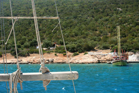 aegean: Aegean Sea Stock Photo