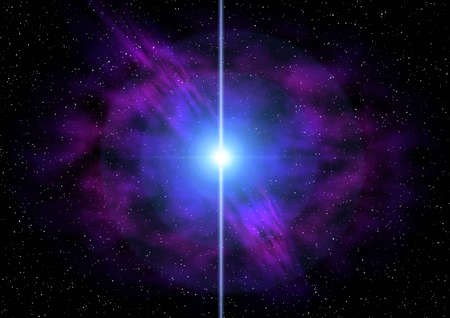 Abstraction star photo