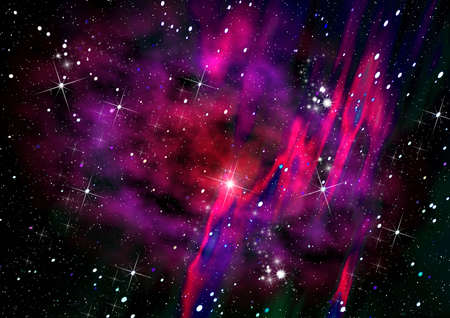 Abstraction space Stock Photo - 3041013