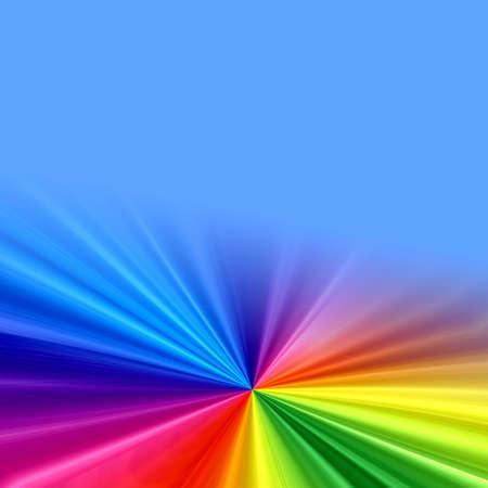Rainbow background Stock Photo - 3297341