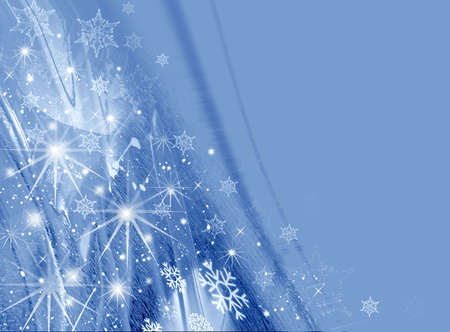 snowy background: Christmas background for design