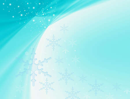 Frosty abstraction background with snowflakes Stock Photo - 3827104