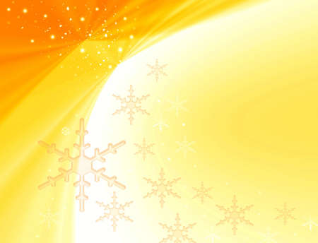 Frosty abstraction background with snowflakes Stock Photo - 3827105
