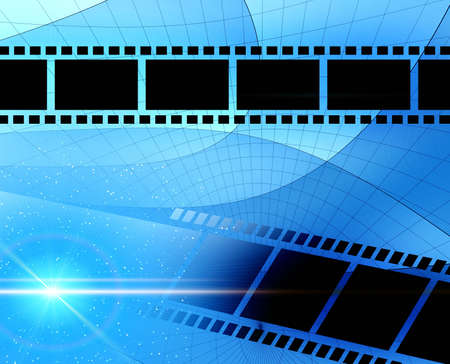 Abstraction background with film  for various design artworks