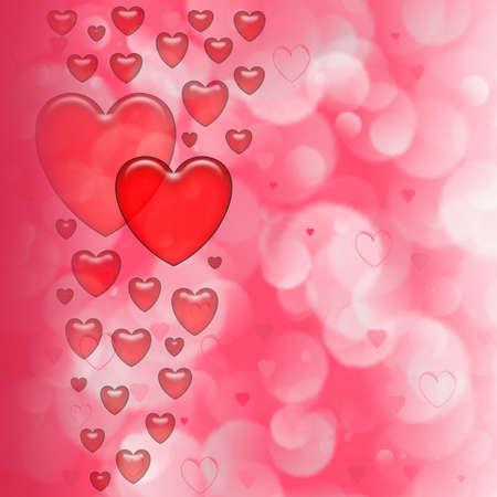 Background for design artwork for Valentine  day photo