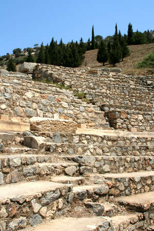 antiquity: Antiquity greek city - Ephesus.  Amphitheater