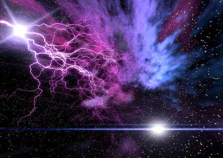 concept magical universe: Spacy Abstracci�n de antecedentes para el dise�o. Universo