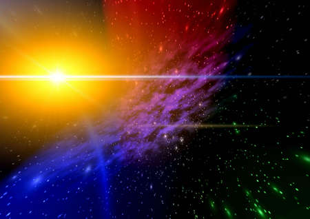 Abstraction spacy background for design. mistical light Stock Photo - 4819281