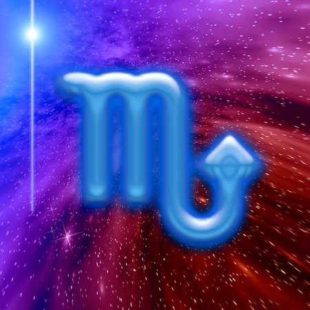 Zodiac sign.  Twelve symbols of the zodiac for various design artworks photo