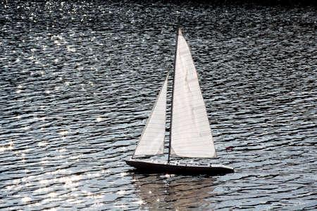sailer: Working model of Sailer in river