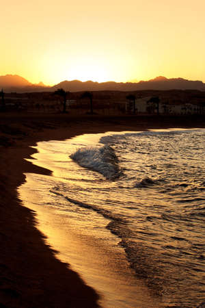 Sunset in Egypt . Charm an ale the Sheikh photo