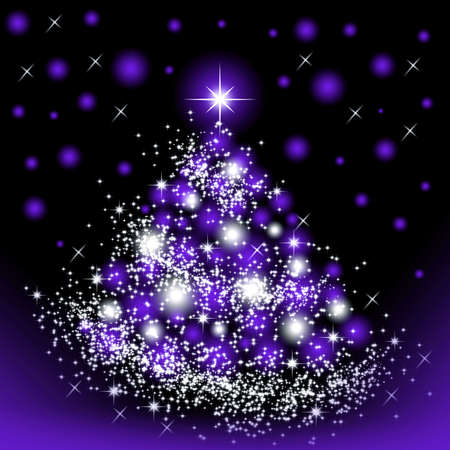 Christmas tree for celebratory design artwork Stock Photo - 5966344