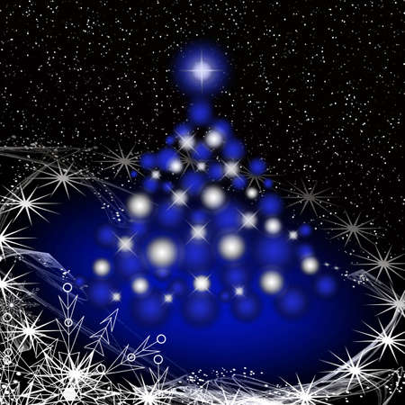 Christmas tree for celebratory design artwork Stock Photo - 5966326