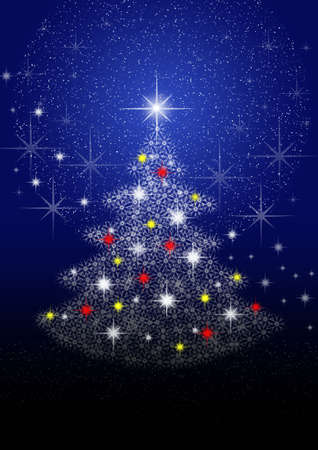 Christmas tree for celebratory design artwork Stock Photo - 5966340