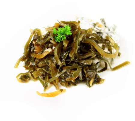 dietetic:  Appetizing dietetic  salad of laminaria