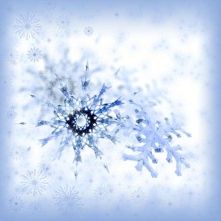 Christmas snowflakes. Illustration for celebratory design illustration