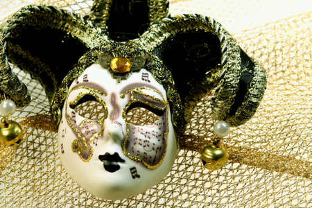 asterix:  Venice  Carnival mask Stock Photo