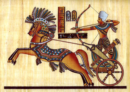 ancient egyptian culture: Egyptian natural papyrus