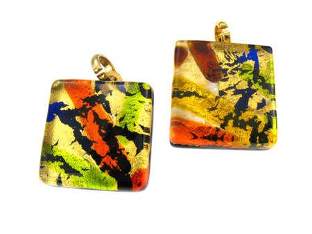 murano:  Venetian Murano jewelry Stock Photo