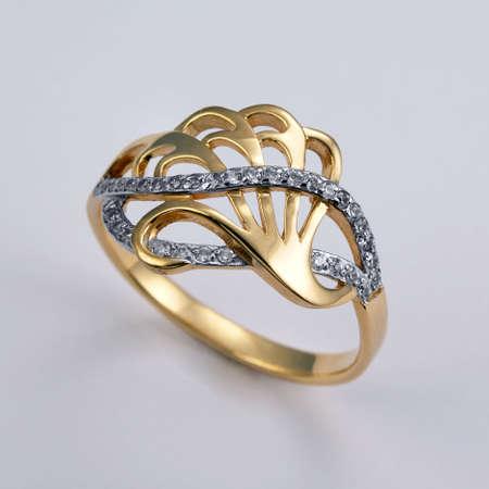 gold ring: Golden ring