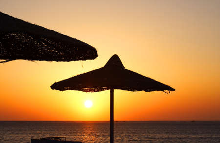 Sunrise in Egypt. Charm an ale the Sheikh Stock Photo - 7015329