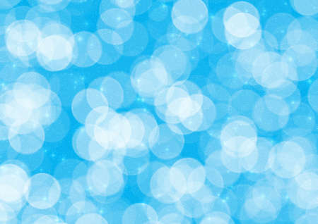 Abstraction blue Christmas background for card and other design artworks photo