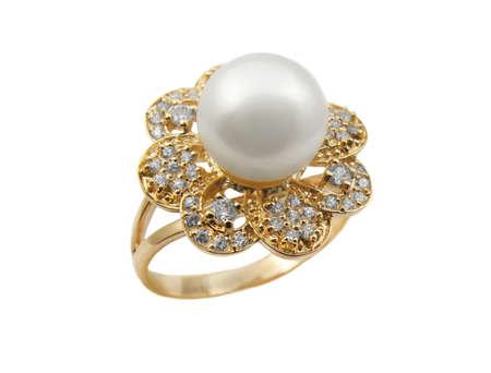 Elegant female jewelry rings with jewel stone Stock Photo - 8637008