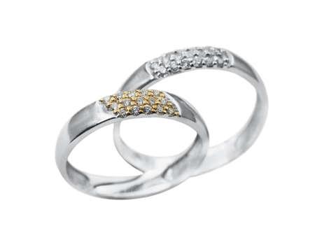 Elegant female jewelry rings with jewel stone Stock Photo - 8637024