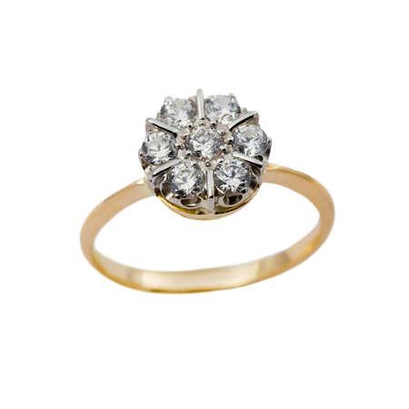 Elegant female jewelry rings with jewel stone  Stock Photo - 8637003