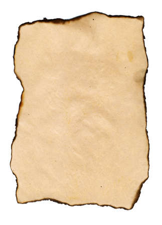Old grungy paper for your design artworks, natural background photo