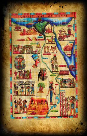 Egyptian natural  papyrus  photo