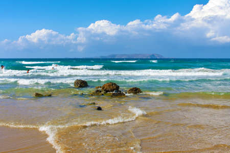Landscape, sea on a Crete, the Greek island Stock Photo - 9626016