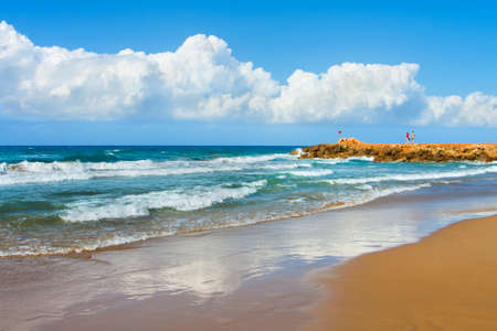 Landscape, sea on a Crete, the Greek island   Stock Photo - 9625913